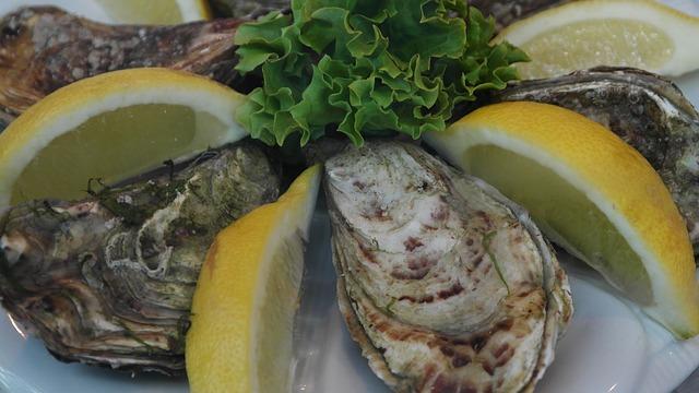 Woran sind frische Austern zu erkennen?