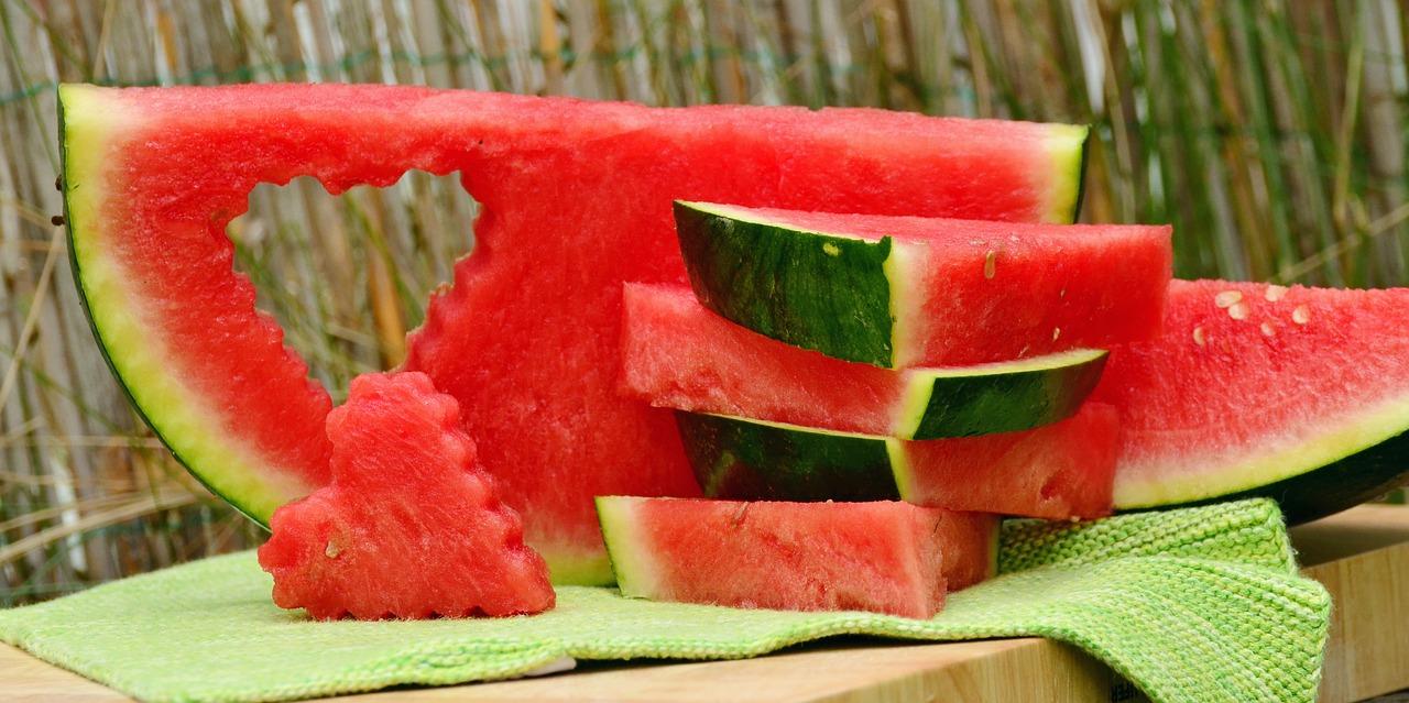 Leckere Gerichte mit Melonen